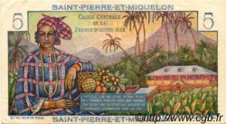 5 Francs Bougainville SAINT PIERRE ET MIQUELON  1946 P.22 TTB+