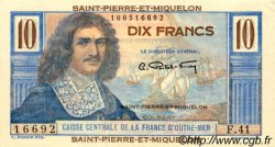 10 Francs Colbert SAINT PIERRE ET MIQUELON  1946 P.23 SPL