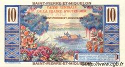 10 Francs Colbert SAINT PIERRE ET MIQUELON  1946 P.23 pr.NEUF