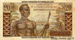 20 Francs SAINT PIERRE ET MIQUELON  1946 P.24 B+