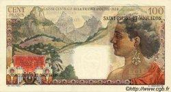 100 Francs La Bourdonnais SAINT PIERRE ET MIQUELON  1946 P.26 SUP+
