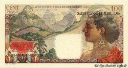 100 Francs La Bourdonnais SAINT PIERRE ET MIQUELON  1946 P.26 pr.NEUF