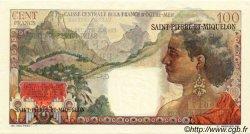 100 Francs La Bourdonnais SAINT PIERRE ET MIQUELON  1946 P.26 SPL