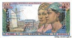 500 Francs Pointe à Pitre SAINT PIERRE ET MIQUELON  1946 P.27s pr.NEUF