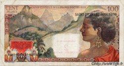 2 NF sur 100 Francs La Bourdonnais SAINT PIERRE ET MIQUELON  1960 P.32 TTB