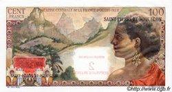 2 NF sur 100 Francs La Bourdonnais SAINT PIERRE ET MIQUELON  1960 P.32 NEUF