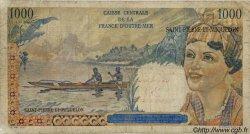 20 Nouveaux Francs sur 1000 Francs Union Française SAINT PIERRE ET MIQUELON  1960 P.34 B