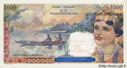 20 Nouveaux Francs sur 1000 Francs Union Française SAINT PIERRE ET MIQUELON  1960 P.34 NEUF