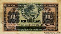 10 Shillings SAMOA  1942 P.07b pr.TTB