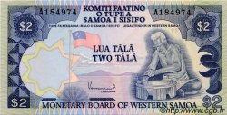 2 Tala SAMOA  1980 P.20 NEUF