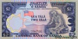 2 Tala SAMOA  1985 P.25 pr.NEUF