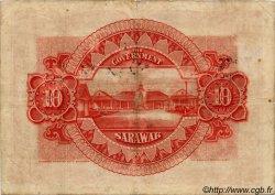 10 Dollars SARAWAK  1929 P.16 TB+