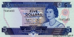 5 Dollars ÎLES SALOMON  1977 P.06b NEUF