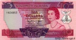 10 Dollars ÎLES SALOMON  1977 P.07b pr.NEUF