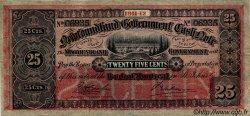 25 Cents TERRE-NEUVE  1911 P.A09 TTB+