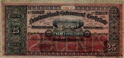 25 Cents TERRE-NEUVE  1912 P.A09 TTB