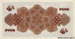 4 Shillings TONGA  1964 P.09 pr.SPL