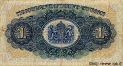 1 Dollar TRINIDAD et TOBAGO  1935 P.05a TB