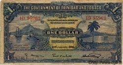 1 Dollar TRINIDAD et TOBAGO  1939 P.05b TB