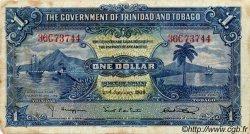 1 Dollar TRINIDAD et TOBAGO  1939 P.05b TTB