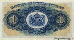 1 Dollar TRINIDAD et TOBAGO  1939 P.05b SUP à SPL