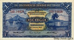 1 Dollar TRINIDAD et TOBAGO  1943 P.05c pr.SUP