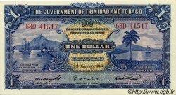 1 Dollar TRINIDAD et TOBAGO  1943 P.05c SPL