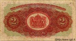 2 Dollars TRINIDAD et TOBAGO  1943 P.08 B+