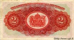 2 Dollars TRINIDAD et TOBAGO  1943 P.08 TTB