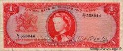 1 Dollar TRINIDAD et TOBAGO  1964 P.26b TB+