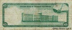 5 Dollars TRINIDAD et TOBAGO  1964 P.27b TB