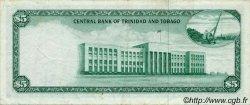 5 Dollars TRINIDAD et TOBAGO  1964 P.27b TTB