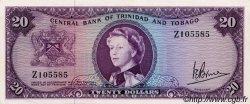 20 Dollars TRINIDAD et TOBAGO  1964 P.29c SUP à SPL