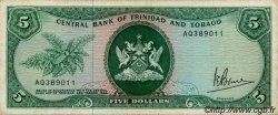 5 Dollars TRINIDAD et TOBAGO  1977 P.31a TB+