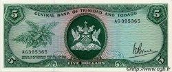5 Dollars TRINIDAD et TOBAGO  1977 P.31a SPL