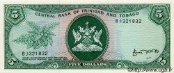 5 Dollars TRINIDAD et TOBAGO  1977 P.31b pr.NEUF