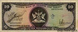 10 Dollars TRINIDAD et TOBAGO  1977 P.32a TB