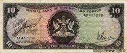 10 Dollars TRINIDAD et TOBAGO  1977 P.32a pr.TTB