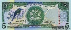 5 Dollars TRINIDAD et TOBAGO  2002 P.42 NEUF