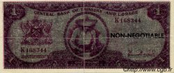 1 Pound TRINIDAD et TOBAGO  1980 P.- TTB+