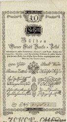 10 Gulden AUTRICHE  1800 P.A032 TTB+