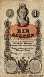 1 Gulden AUTRICHE  1858 P.A084 TB