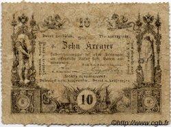 10 Kreuzer AUTRICHE  1860 P.A093b pr.TB