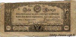 10 Kreuzer AUTRICHE  1860 P.A094 TB