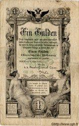 1 Gulden AUTRICHE  1866 P.A150 TB