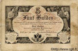 5 Gulden AUTRICHE  1866 P.A151b TB