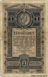 1 Gulden AUTRICHE  1882 P.A153 B
