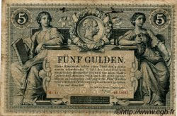 5 Gulden AUTRICHE  1881 P.A154 TB+