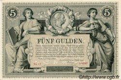 5 Gulden AUTRICHE  1881 P.A154 SPL