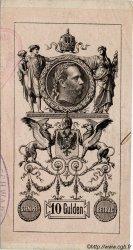 10 Gulden AUTRICHE  1881 P.A154bis SUP